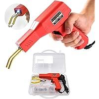 Soldadura de plástico Máquina Kit de reparación de parachoques de coche, 50W calientes Grapadoras Soldadura Reparando…