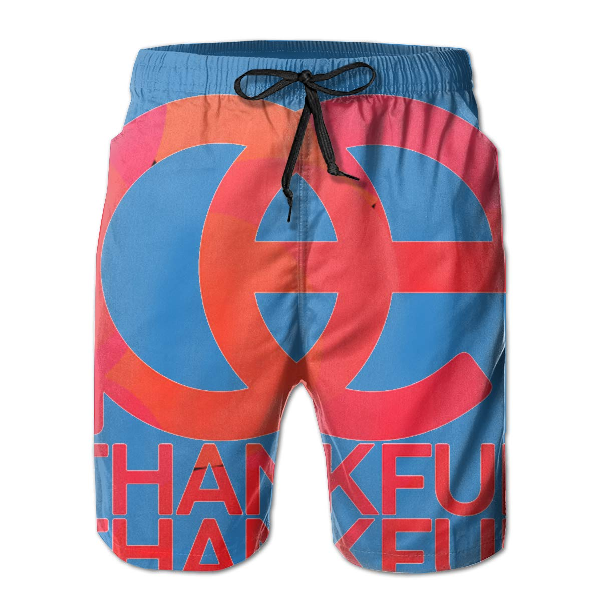 You Know And Good Be Thankful Bible Mens Swim Trunks Bathing Suit Beach Shorts