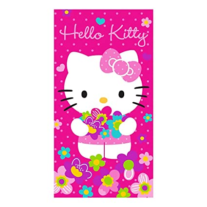 35d6e37ae6 Image Unavailable. Image not available for. Color  Hello Kitty Bunches of Flowers  Slumber Bag