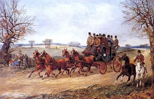 Henry Alken A Coach and Four on an Autumn Road - 18.1