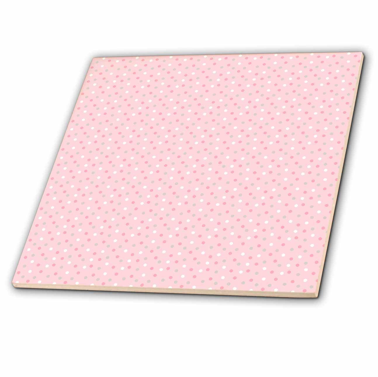 622ae9b21c322 Amazon.com: 3dRose Anne Marie Baugh - Patterns - Cute Pink, Gray ...
