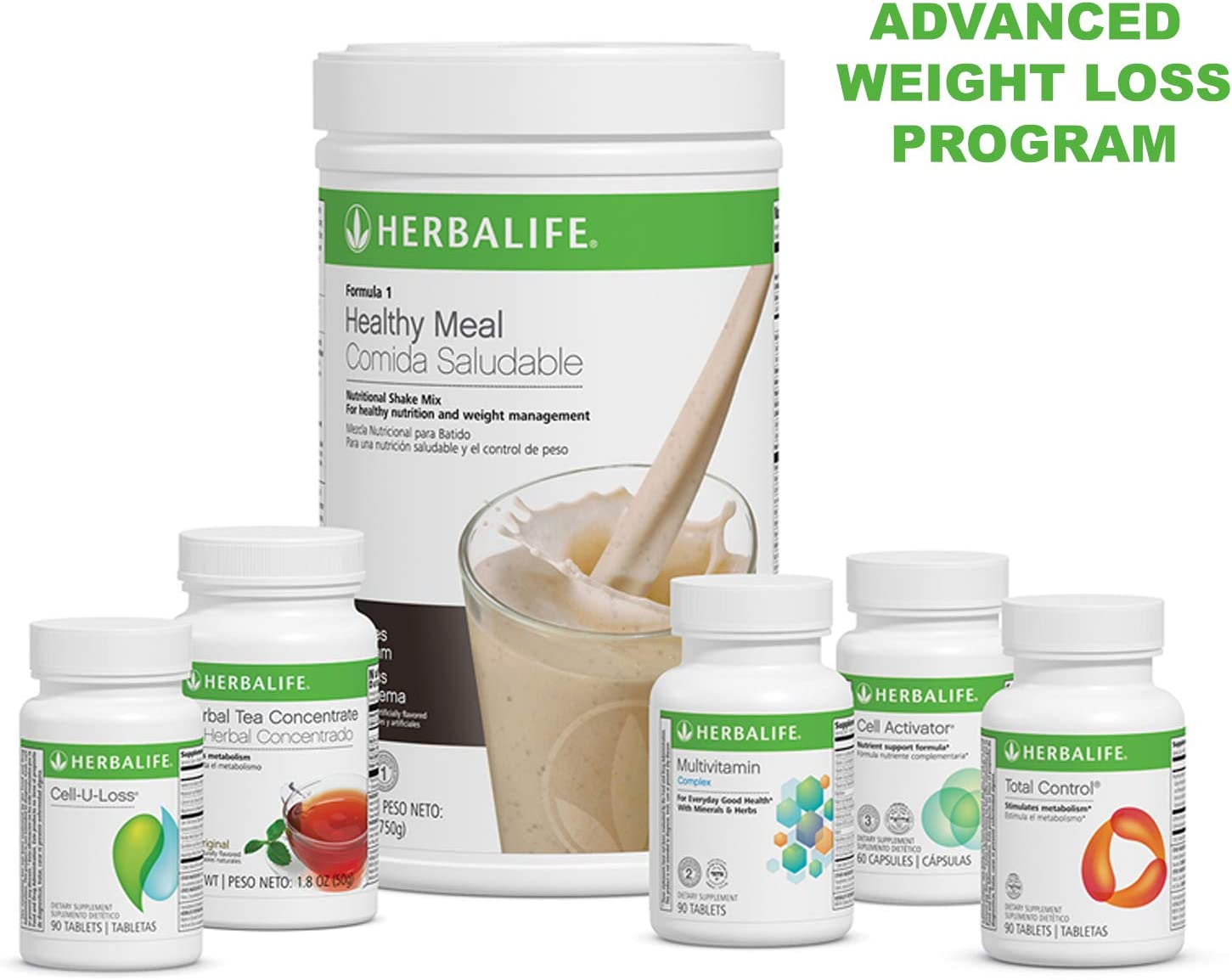 Herbalife Advanced Program – Choose Your Flavor Cookies n Cream
