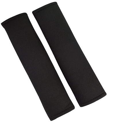 Jmkcoz 1 Pair Car Seat Belt Covers For Adults Pads Strap Shoulder Pad Black