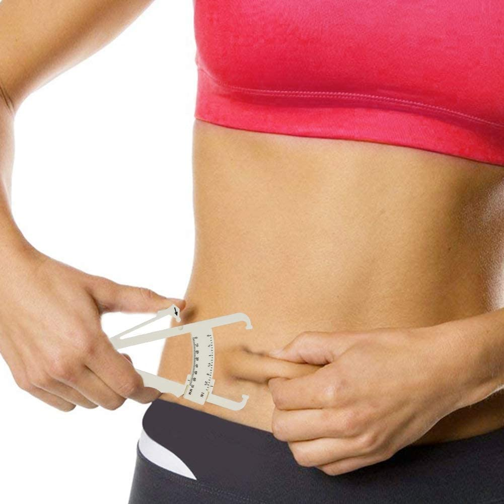 1Pc Body Fat Tester,Fitness Skin Fold Accurate Measure Measurement Tool Body Fat Caliper