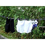 HAWATOUR Portable Travel Elastic Clothesline