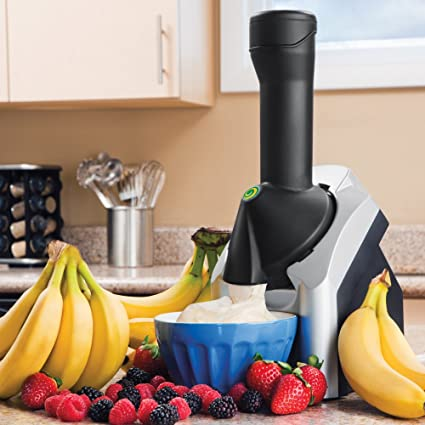 Yonanas Frozen Healthy Dessert Maker – 100% Fruit Soft-Serve Maker