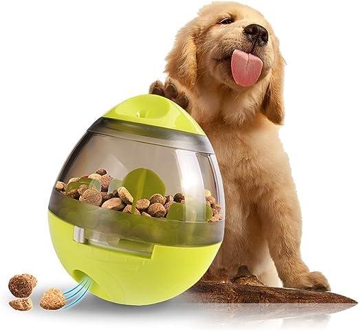 ChuangLan Bola de comida para perro, dispensador de alimentos ...