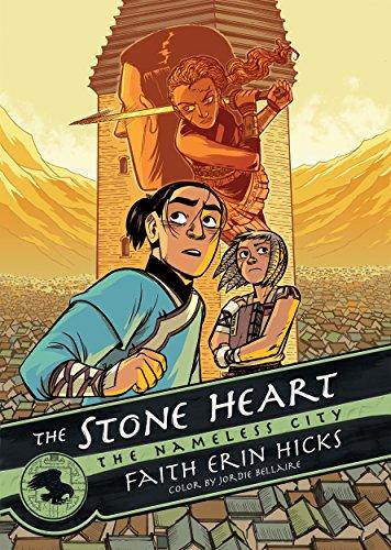 The Stone Heart (The Nameless City) [Faith Erin Hicks] (Tapa Dura)