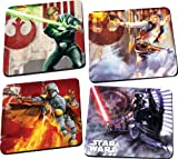 Vandor 99085 Star Wars 4 pc Wood Coaster