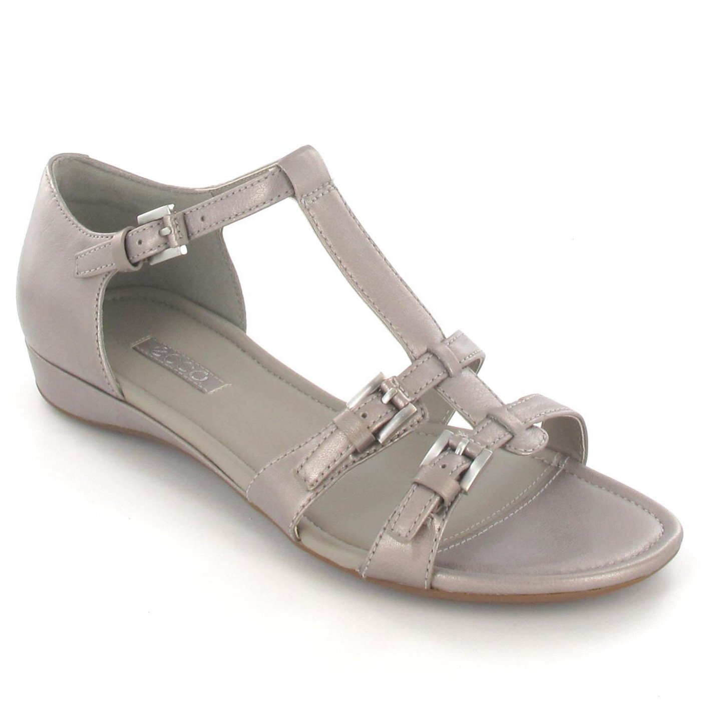 Ecco Women's Boiullon Sandal II Fashion Sandals Grey Grey