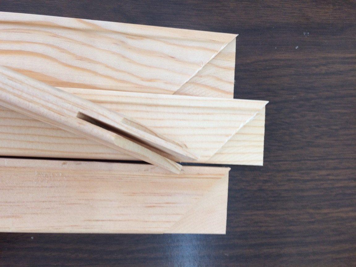 Art Canvas Stretcher Bars/stretcher Strips 16 Inch, (Bundle of 50)