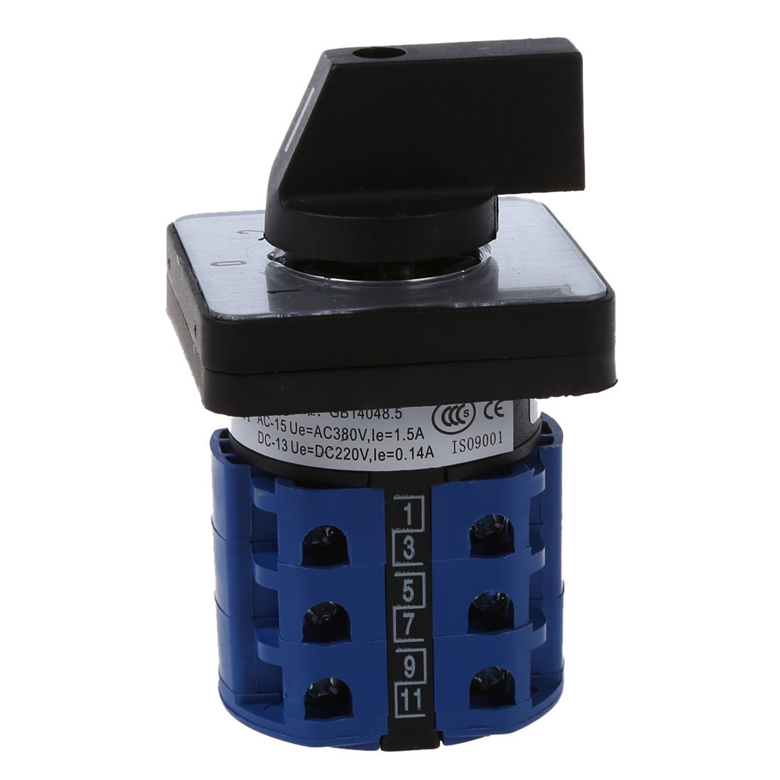 SODIAL(R) Interruptor de leva giratoria de control de cambio encendido - apagado - encendido 3 posiciones 20A