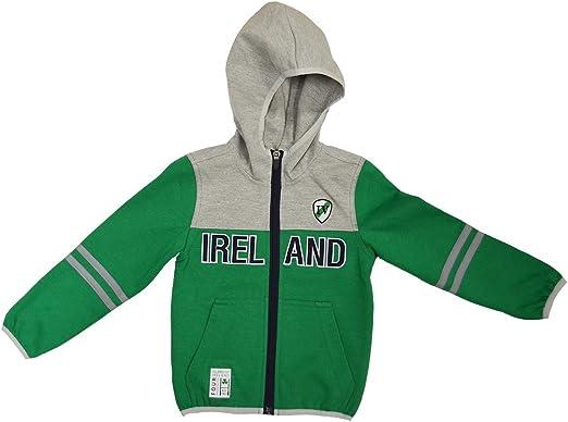 Malham USA Kids Ireland Retro Zip Hooded Sweatshirt