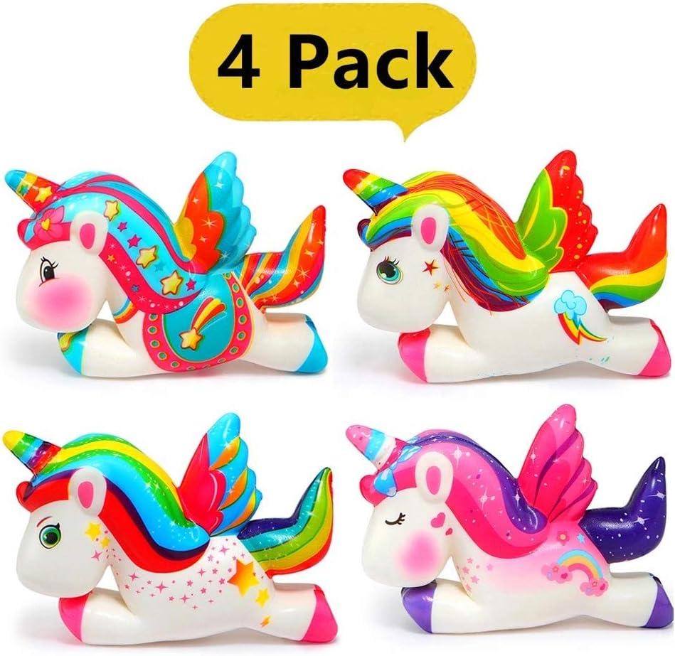Gutte Squishy Unicornio, Squishys Kawaii, Squishies Grandes Pack 4 ...
