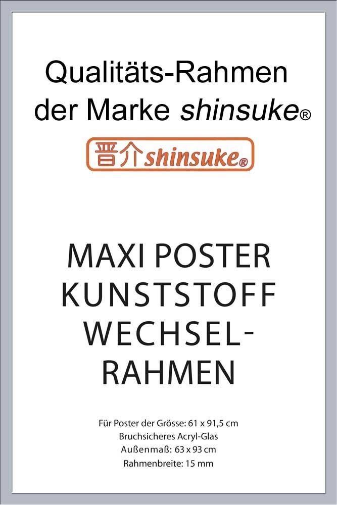 Amazon.de: empireposter - Rahmen Maxi 61x91, 5 cm - 15mm Kunststoff ...