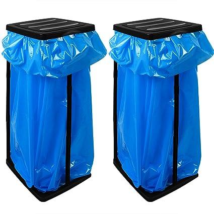 2 bolsas de basura de soporte para bolsas de basura de hasta ...