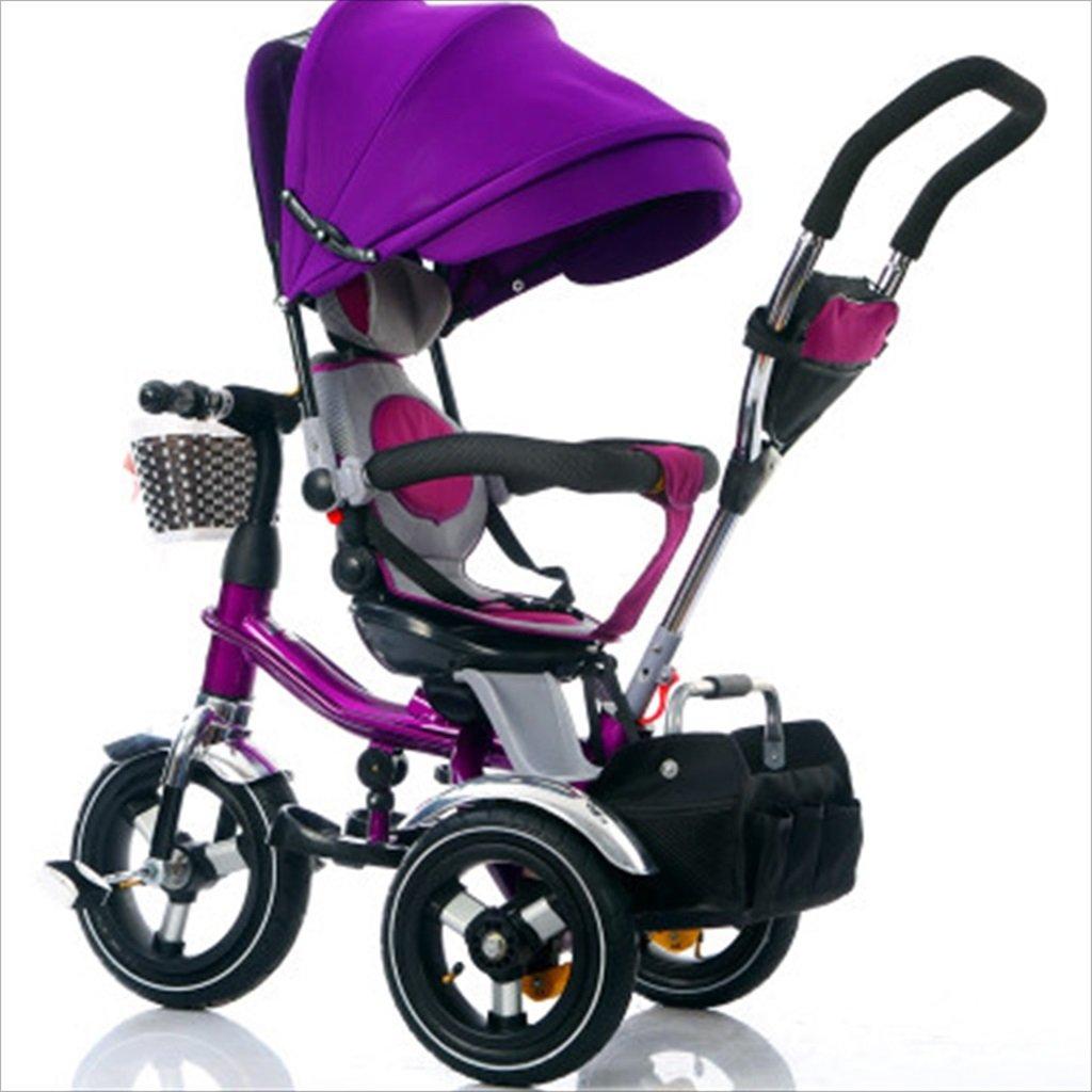 子供の屋内屋外の小さな三輪車自転車の男の子の自転車の自転車6ヶ月-5歳の赤ちゃん三輪車の天井、インフレータブルホイール/回転座席 (色 : 7) B07FGDPZBS 7 7