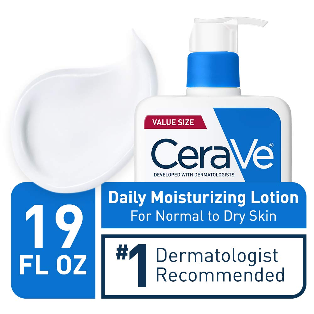 CeraVe Daily Moisturizing Lotion | 19 Ounce | Face & Body Lotion for Dry Skin with Hyaluronic Acid | Fragrance Free: Beauty