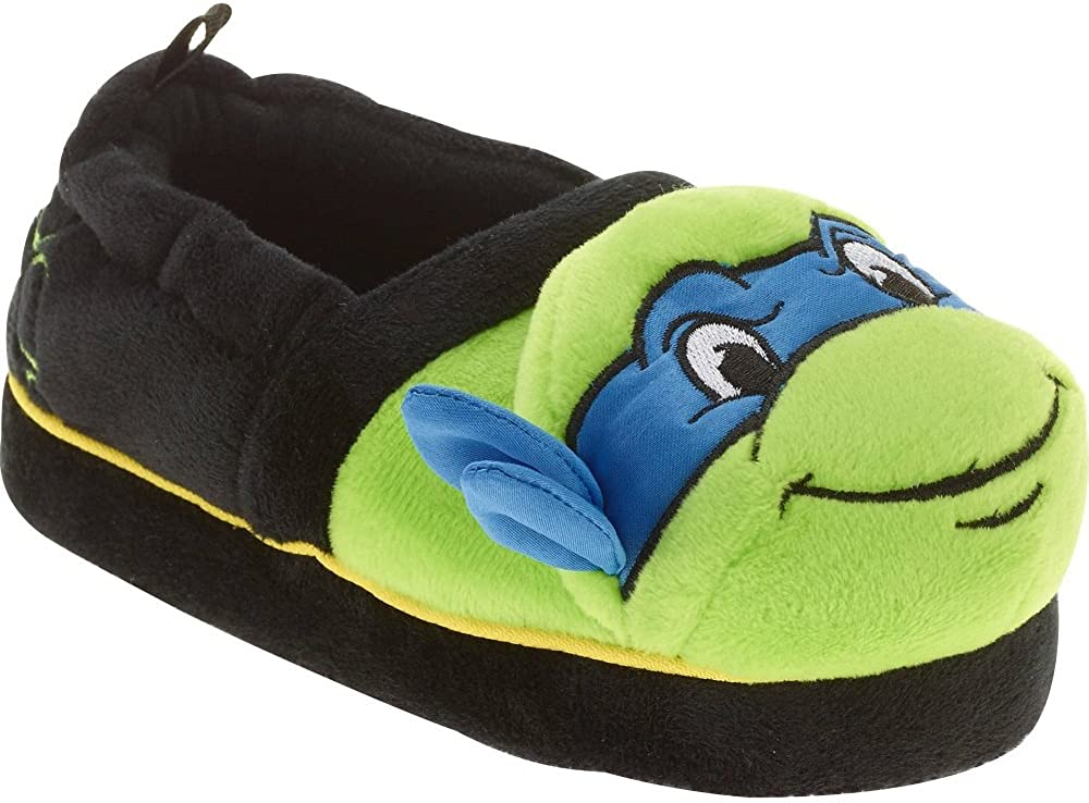 Nickelod Nickelodeon Boy's Teenage Mutant Ninja Turtles Slippers