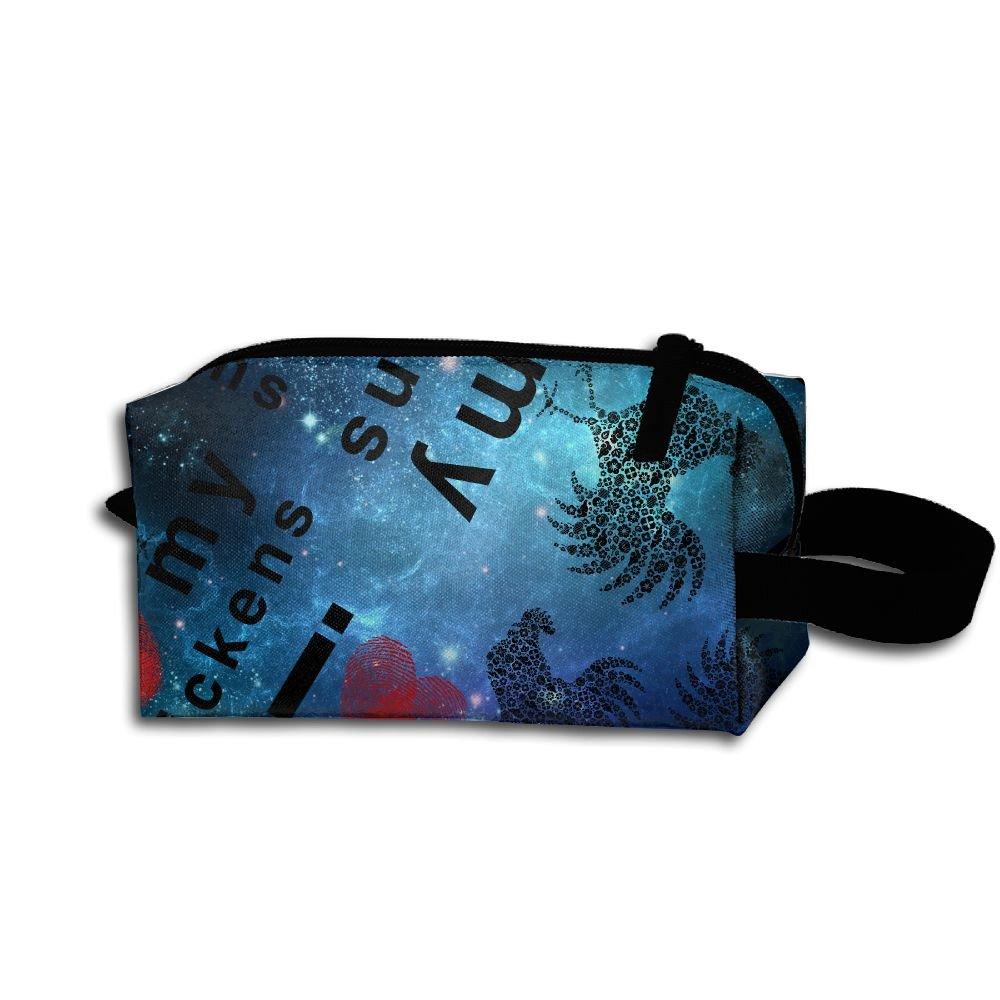 3d55c61e9f91 1 Womens Colorful Handbag Waterproof Make-up Bag durable modeling ...