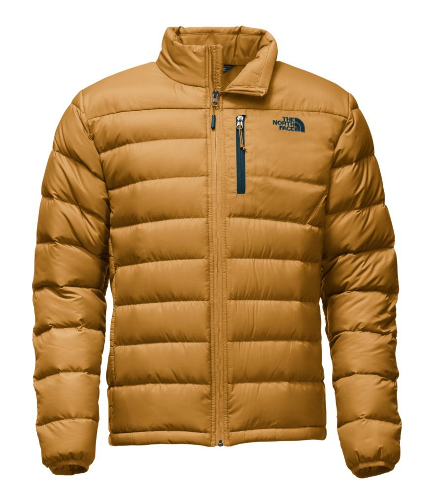 The North Face Men's Aconcagua Jacket - Golden Brown - S (Past Season) by The North Face