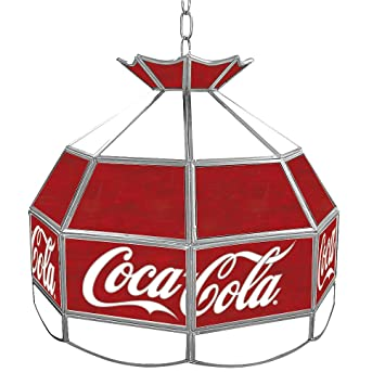 Coca Cola Tiffany Gameroom Lamp, 16u0026quot;