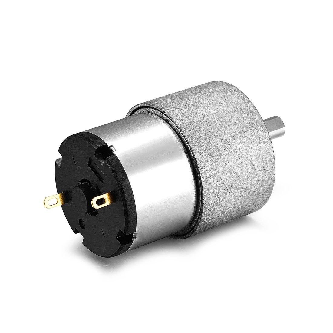 sourcingmap/® DC 12V 3.5RPM diametro di 6mm albero elettrico innestato scatola velocit/à di riduzione del motore