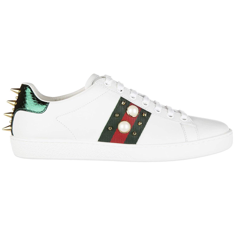 d7bdf8756247 Gucci Women Sneakers Bianco 7 UK  Amazon.co.uk  Shoes   Bags