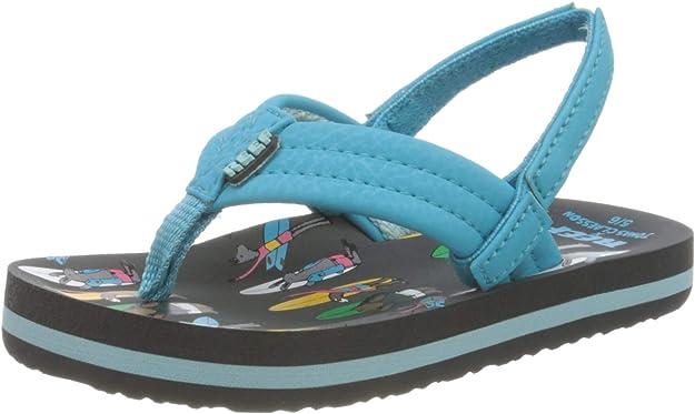 Reef Enfants Jonas Claesson Summer Flip Flops Tongs Sandales 12K-13K UK