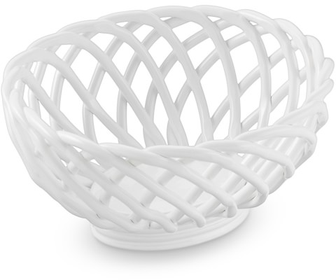 Ceramic Woven Bread Basket | Williams-Sonoma​