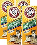 ARM & Hammer Cat Litter Deodorizer-Super Size Pack-30 oz Pack of 4