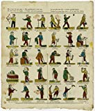Antique Print-CATCHPENNY-PROVERBS-FIGURES-Anonymous-1803-1833