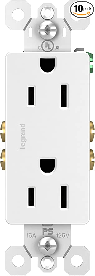15 Amp Outlet (Pack of 10)