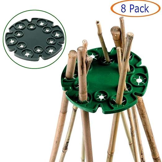 Tfwadmx Bastón de bambú, Soporte para Gorros de Soporte para ...