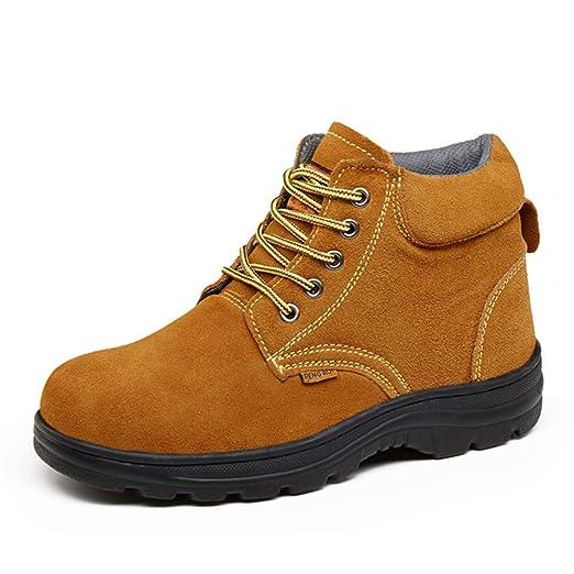 Willsky Zapatos De Seguridad para Hombres, Botas De Seguridad con ...