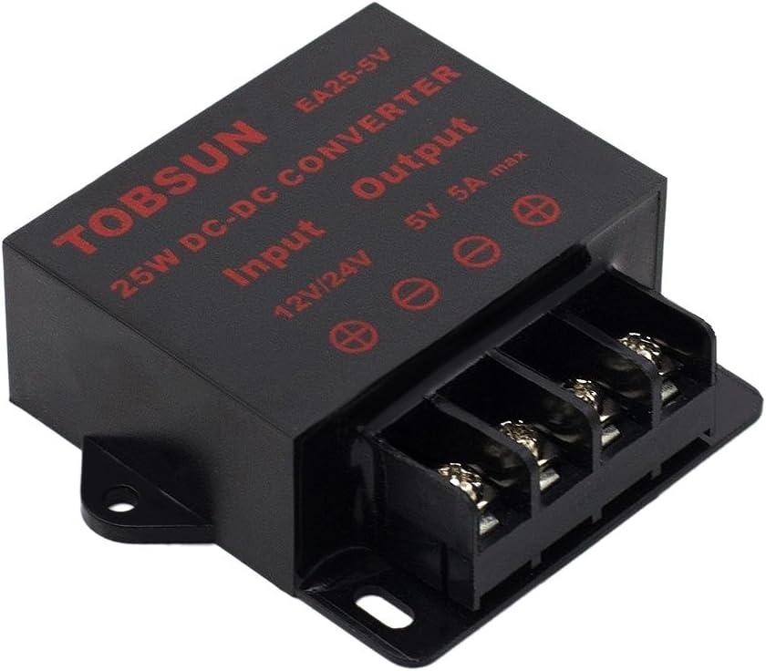 Supernight Dc 12v 24v Zu 5v 5a Konverter Abwärtsregler Elektronik