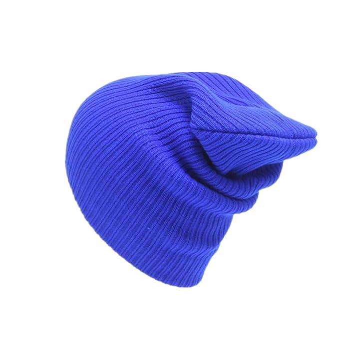 Vovotrade Unisex Mens Womens Beanie Strick-Ski-Cap Hip-Hop Winter ... 884bcb24b957