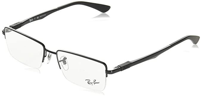Amazon.com: Ray-Ban rx6263 eyeglasses-2509 black-54 mm: Shoes
