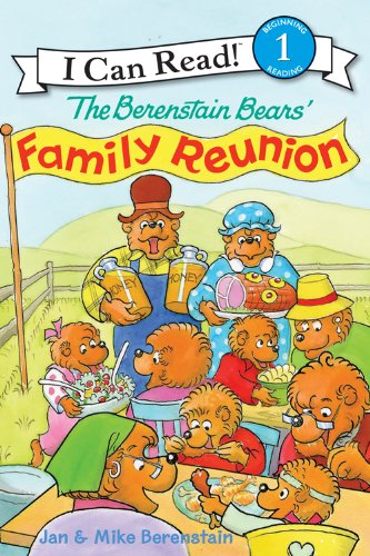 The Berenstain Bears' Family Reunion (I Can Read Level 1)