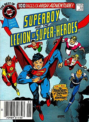 Blue Ribbon Digest - Best of DC 44 - Superboy & The Legion (DC Comics 1984)