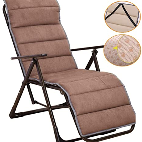 RANRANHOME Cojín Chaise Lounge para Interior/Exterior ...