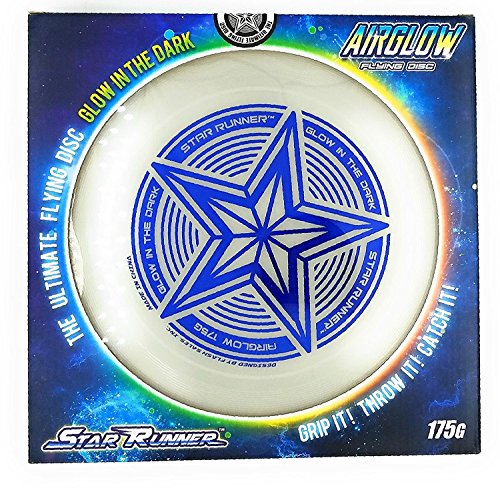 SLR Brands 175 gram Star Sport Glow In the Dark Flying Disc Frisbee ()