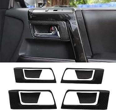 Black Exterior Side Door Handle Cover Trim 8pcs For Toyota 4Runner 2010-2019