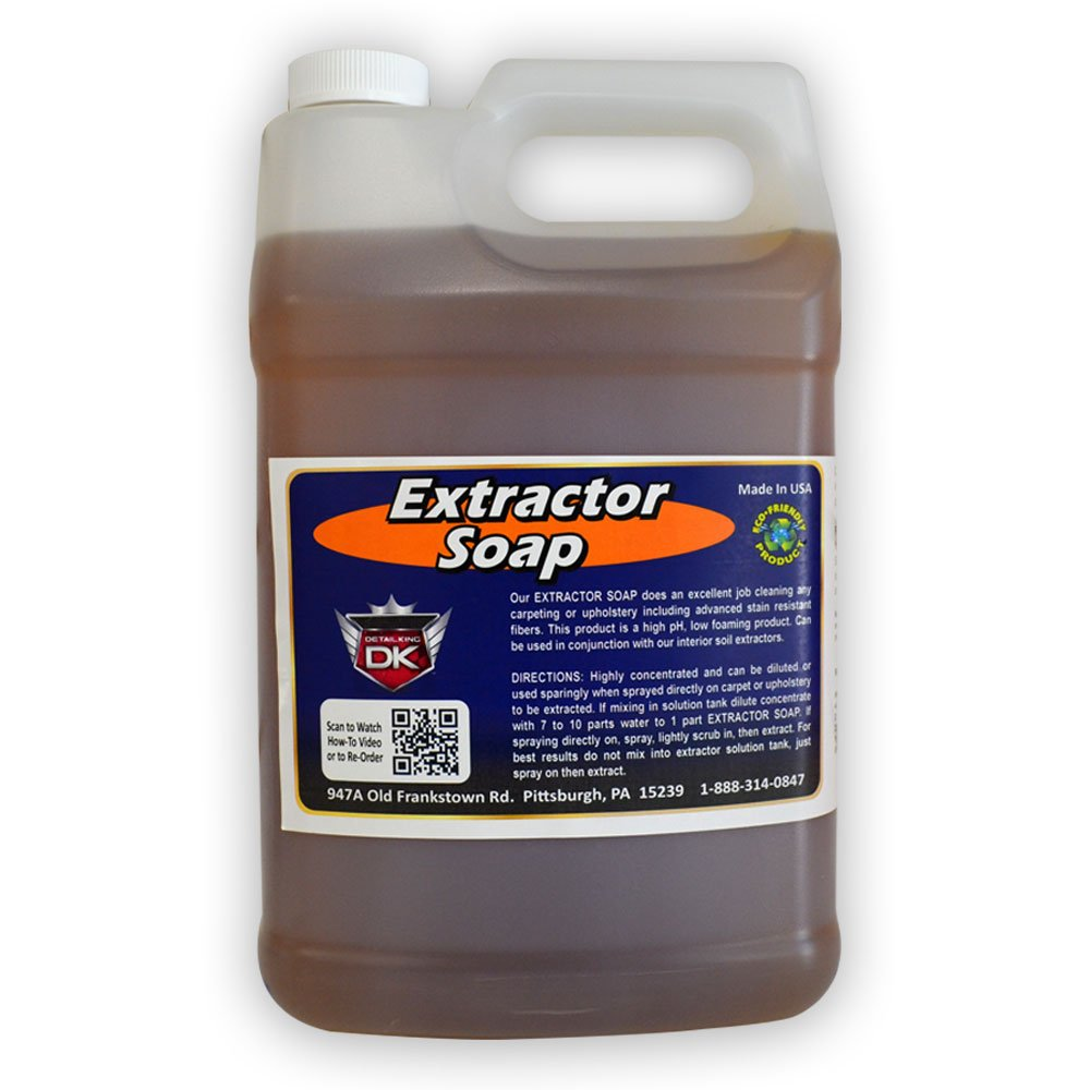 Detail King Automotive Interior Extractor Soap (1 Gal)