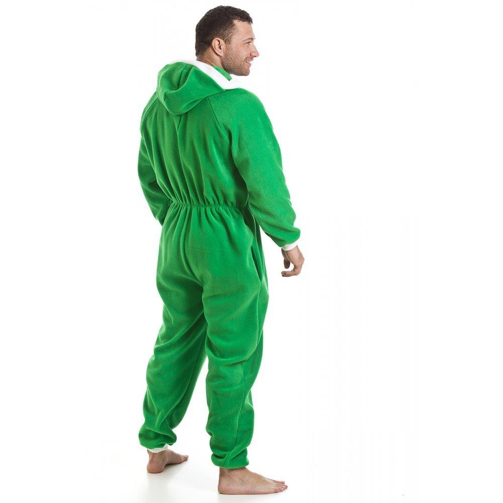 Homme d/étail Poches Camille Combinaison Pyjama /à Capuche en Polaire
