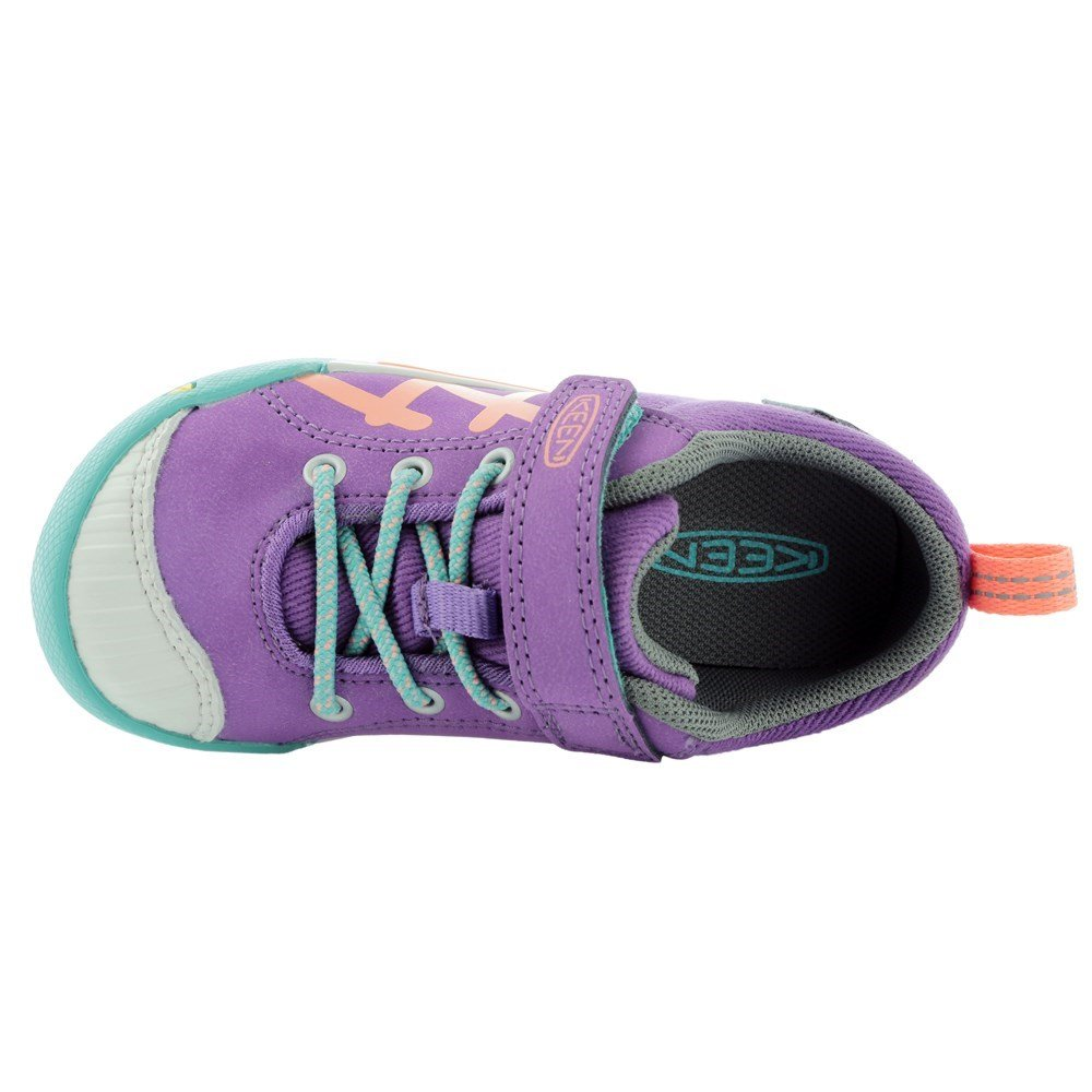 KEEN Encanto Sneaker Shoe (Toddler/Little Kid), Purple Heart/Fusion Coral, 8 M US Toddler by KEEN (Image #6)