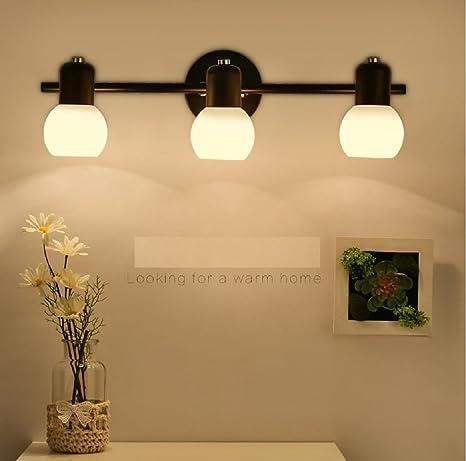 luces LED lámparas de espejo del dormitorio espejo del baño mueble de baño vanidad luces del