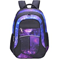 Galaxy Backpack for Girls, Boys, Kids, Teens by Fenrici, 46 cm Durable Book Bags for Elementary, Middle, Junior High…