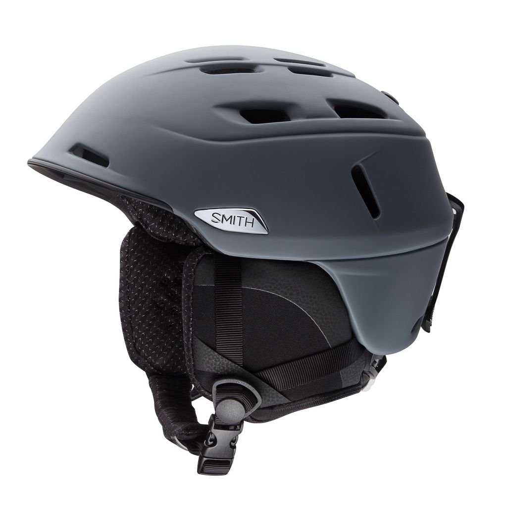 Smith Optics Camber MIPS Adult Ski Snowmobile Helmet - Matte Charcoal / Medium by Smith Optics