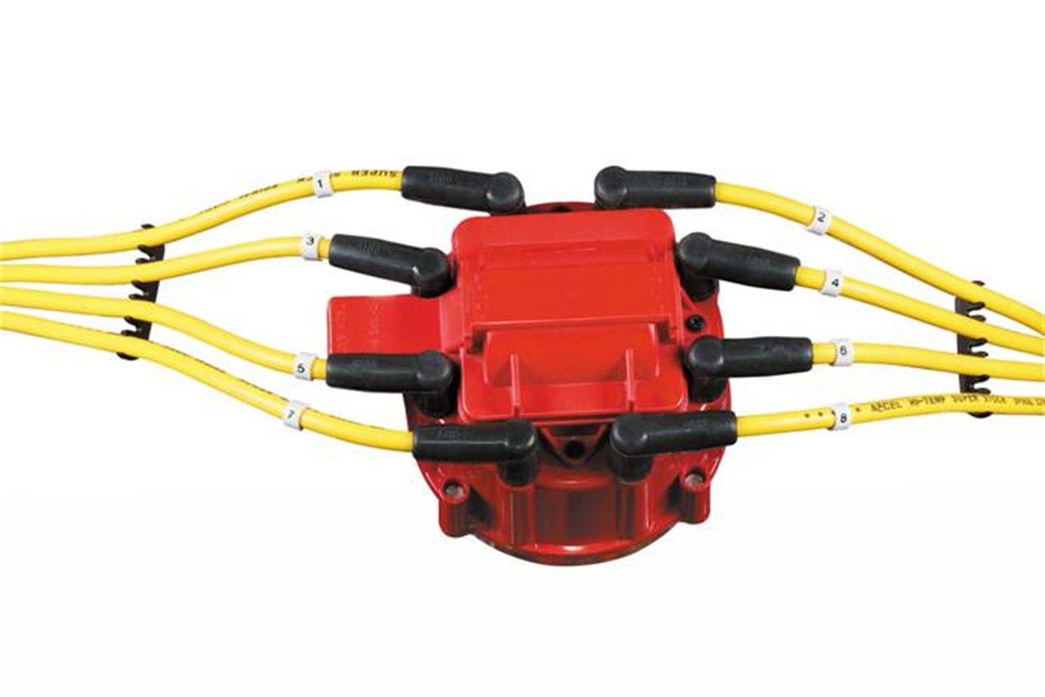 617Mho1gngL._SL1500_ accel 8141r red corrected gm hei distributor cap for v8 engine accel hei distributor wiring diagram at bayanpartner.co